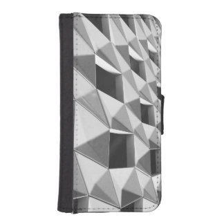Abstract Diagonal Pattern Design iPhone SE/5/5s Wallet Case
