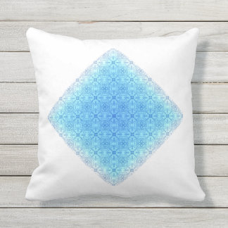 Abstract Diamond Throw Pillow