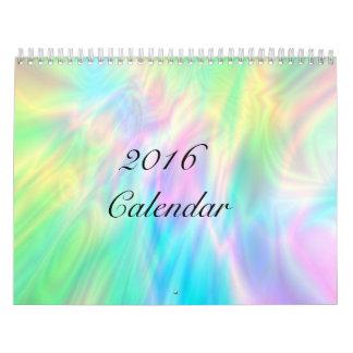 Abstract Digital Art Calendar