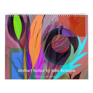 Abstract Digital Art Julie Richman Wall Calendars