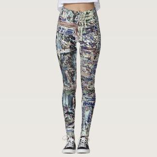 Abstract Digital Art Leggings