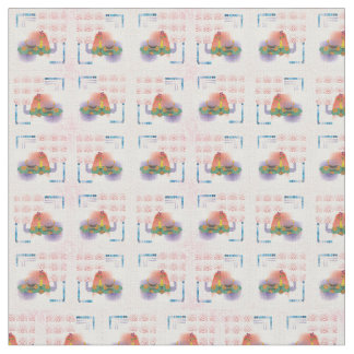 abstract digital pattern fabric