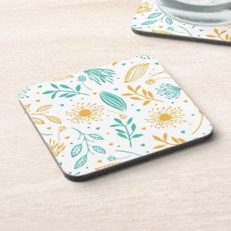 Abstract Ditsy Floral Background | Coaster