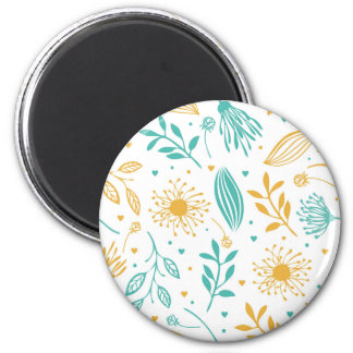 Abstract Ditsy Floral Background | Magnet