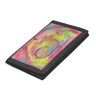Abstract Doodle Tri-fold Wallet