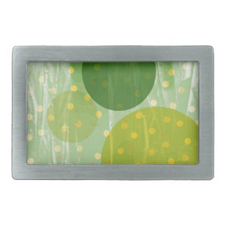 Abstract Dots Design Belt Buckles