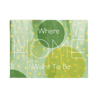 Abstract Dots Design Doormat