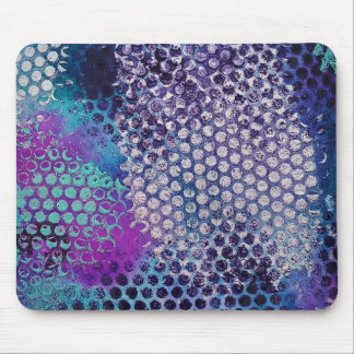 Abstract Dots Mouse Pad