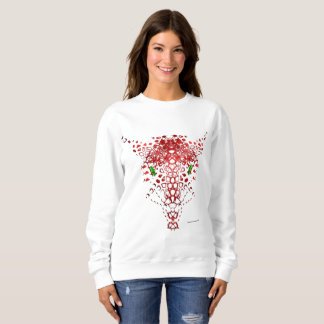 Abstract Dragon Ladies Sweatshirt