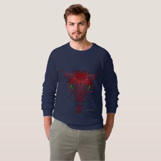 Abstract Dragon Men's Raglan Sweatshirt