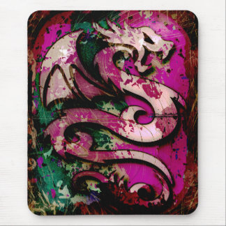 Abstract Dragon Mouse Pad