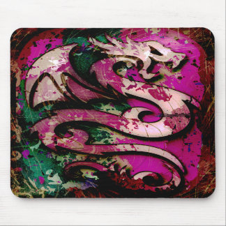 Abstract Dragon Mouse Pads