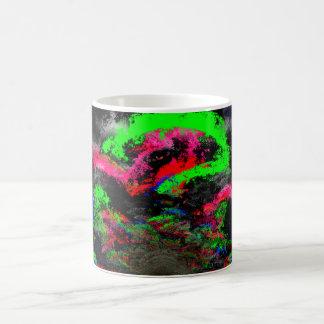 Abstract Dragon Mug