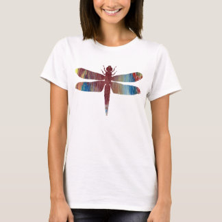 Abstract Dragonfly silhouette T-Shirt