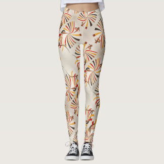 Abstract drawing - Leggings