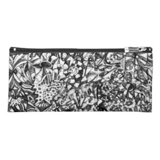 Abstract Drawing Pencil Case