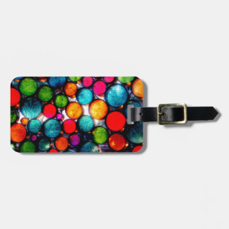 Abstract Droplets Luggage Tag