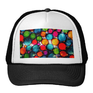 Abstract Droplets Trucker Hat