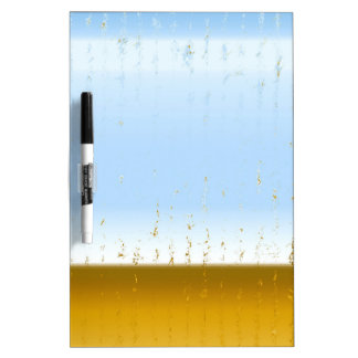 abstract dry erase board