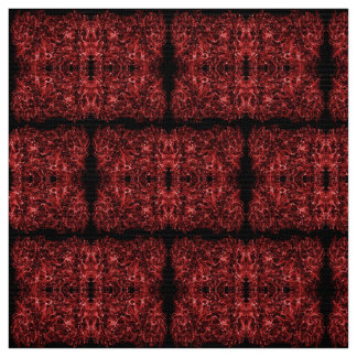 Abstract dynamic red pattern, fabric