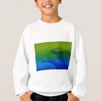 Abstract Eagle Sweatshirt
