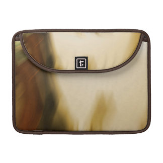 Abstract earth tones sleeve for MacBook pro