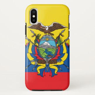 Abstract Ecuador Flag, Republic of Ecuador Colors Case-Mate iPhone Case