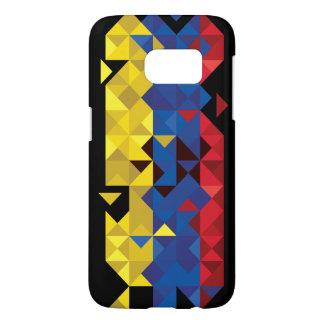 Abstract Ecuador Flag, Republic of Ecuador Colors Samsung Galaxy S7 Case