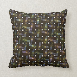 Abstract Egyptian Princess Cross Weave Pattern, Throw Pillow