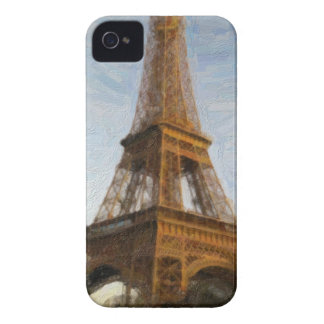 abstract eiffel tower Case-Mate iPhone 4 case