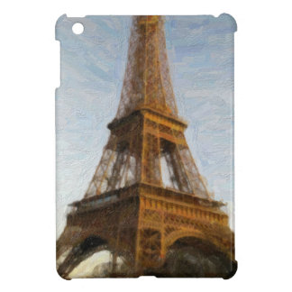abstract eiffel tower cover for the iPad mini