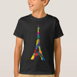 Abstract Eiffel Tower, France, Paris T-shirts
