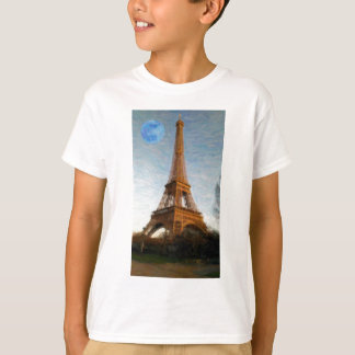 abstract eiffel tower T-Shirt