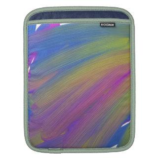 Abstract electronics iPad sleeves