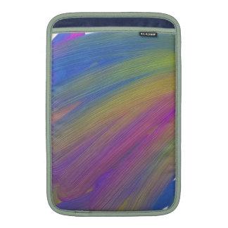 Abstract electronics MacBook sleeve