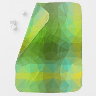 Abstract & Elegant Geo Designs - Garden Patch Baby Blanket