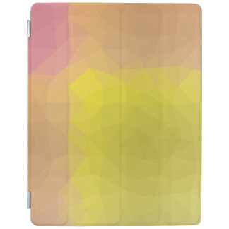 Abstract & Elegant Geo Designs - Golden Mountain iPad Cover