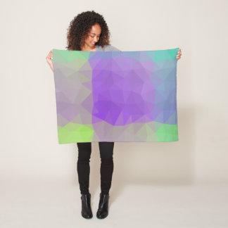 Abstract & Elegant Geo Designs - Iris Field Fleece Blanket