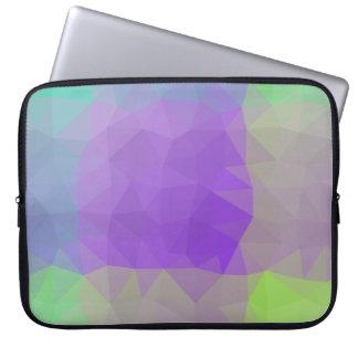 Abstract & Elegant Geo Designs - Iris Field Laptop Sleeve