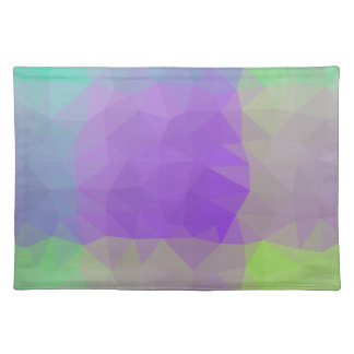 Abstract & Elegant Geo Designs - Iris Field Placemat