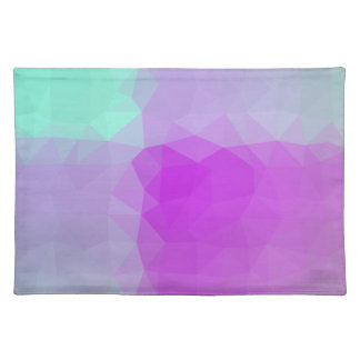 Abstract & Elegant Geo Designs - Magenta Sky Placemat
