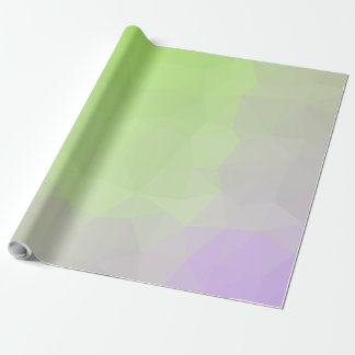 Abstract & Elegant Geo Designs - Meadow Rise Wrapping Paper
