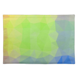 Abstract & Elegant Geo Designs - Ocean to Land Placemat
