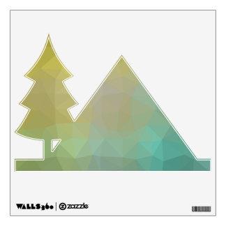 Abstract & Elegant Geo Designs - Pine Autumn Wall Sticker