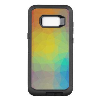 Abstract & Elegant Geo Designs - Seashell Vision OtterBox Defender Samsung Galaxy S8+ Case