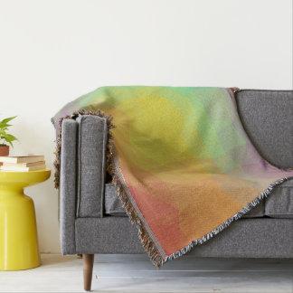 Abstract & Elegant Geo Designs - Seashell Vision Throw Blanket