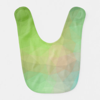 Abstract & Elegant Geo Designs - Watermelon Hue Bib