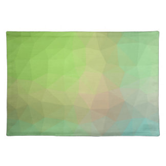 Abstract & Elegant Geo Designs - Watermelon Hue Placemat