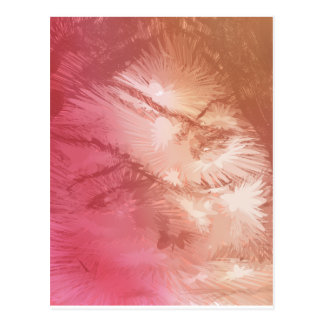 Abstract emotion postcard