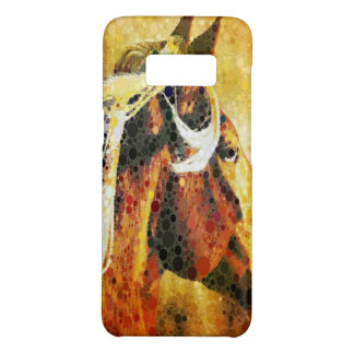Abstract equestrian western country horse Case-Mate samsung galaxy s8 case